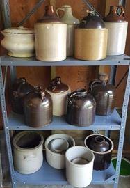 Stoneware Crocks