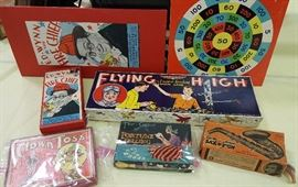 Flyin High, Ed Wynn Fire Chief, Fortune Telling , and more. Great Antique Games!