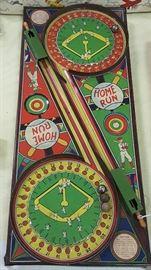 Awesome Home Run Tin Pinball Game