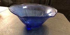 "Royal Lace Ruffled 10"" Bowl - Hazel Atlas"