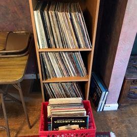 600+ vintage LP's
