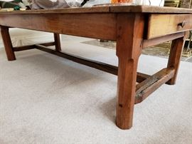 Farm coffee table