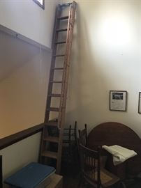12 foot library ladder