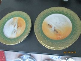 HAVILAND LIMOGES 7 PLATES
