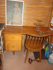 Conant Ball desk and chair