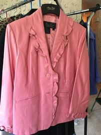 Terry Lewis leather jacket -- new with tag