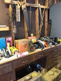 More tools, saws, garage stuff