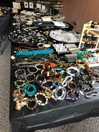 watches, necklaces, earrings, bracelets