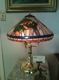 Lamp with Fish Shade