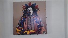 Native American glicee