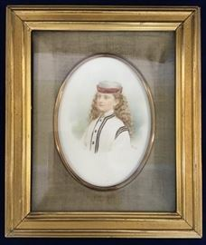 Portrait Painting by M. Brody    http://www.ctonlineauctions.com/detail.asp?id=747800
