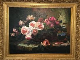 Oil on Canvas by Richmond           http://www.ctonlineauctions.com/detail.asp?id=747792