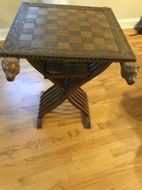 Florentine chess table!