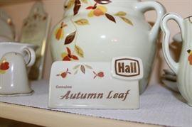 Vintage Hall Jewel Tea Autumn China
