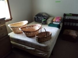 Comforters and baskets