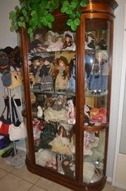 Curio Cabinet, Doll Collection