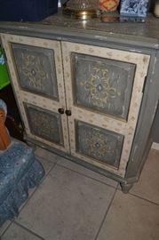 1 of two matching cabinets.  Quality construction - great storage!