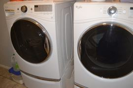 Whirlpool Washer and Dryer - great condition/great buy!