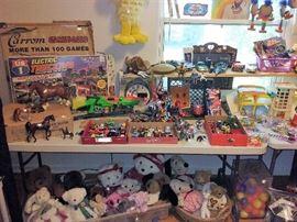 matchbox, Vogue dolls, Rushton Co., Dakin, Russ, Dayton, Hudson, Art's Toys, Gund, Summit, Furberries, Caltoy, Boyd's, Edward Mofle, matchbox, Ertl