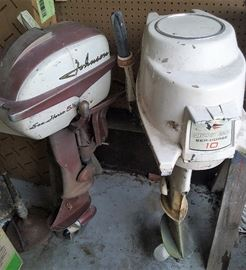 Johnson Seahorse outboard motors