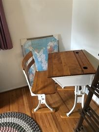The school house desk and chair!
