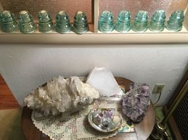 Crystals, Amethysts, and other gemstones