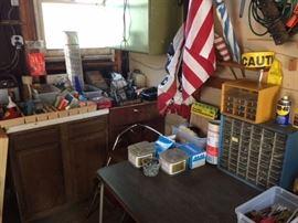 Misc garage items
