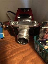 Camera and slide equipment