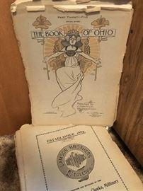"""Antique """"The Book of Ohio"""" periodicals"""