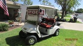 2006 electric cart with all new batteries