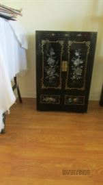 Asian style cabinet 3 ft tall