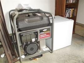 generator & mini fridge