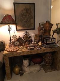Home decor, lamp
