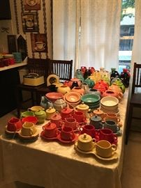 Tons if Fiesta ware all colors!!