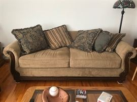 sofa $75   Purchase all three pieces for $150...