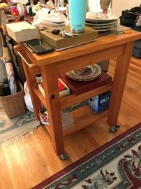Rolling Kitchen Cart $ 90.00