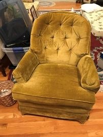 Upholstered Chair $ 50.00
