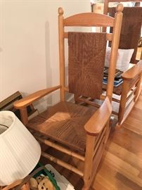 Large Wood Rockers $ 70.00 each (2 available)