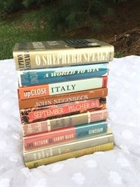 . Books by Great Authors      http://www.ctonlineauctions.com/detail.asp?id=747628