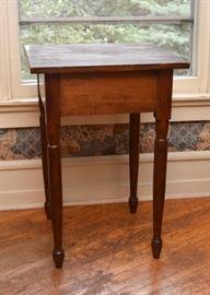 Antique Spindle Leg Side Table