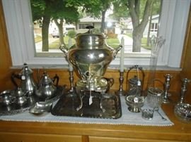 Wilcox International Silver Company Coffee Urn
