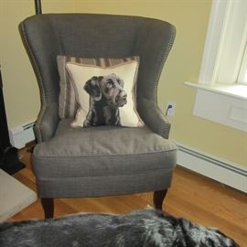 WHOOPS SORRY! DOG PILLOW NOT FOR SALE! CHAIR ONLY!