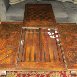 THEODORE ALEXANDER GAME COFFEE TABLE!