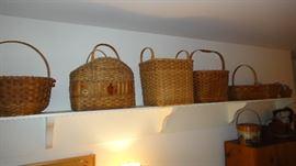 Handwoven baskets