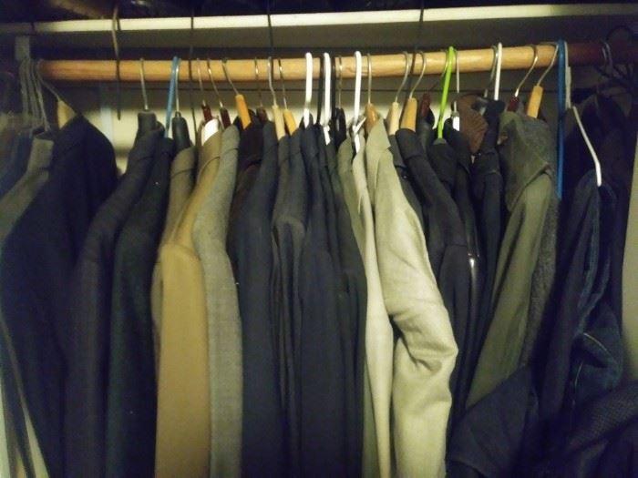Men's suits size 42