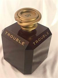 "Trouble by Boucheron Factice EMPTY, 8"" Store Display Bottle   https://ctbids.com/#!/description/share/37928"