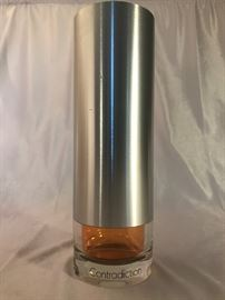 "Contradiction by Calvin Klein Factice EMPTY, 12"" Store Display Bottle https://ctbids.com/#!/description/share/37931"