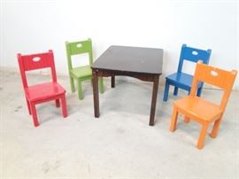 Childrens Table Set