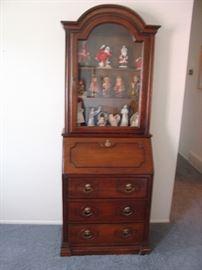 Vintage Jasper Cabinets Secretary Desk -811 Fruitwood