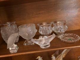 Assorted Lalique